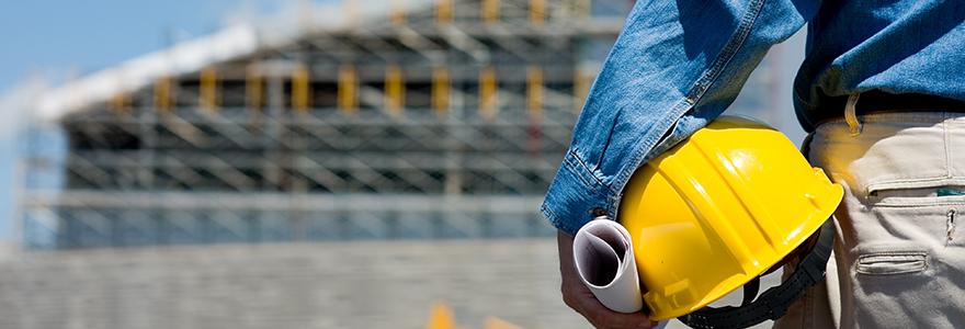 Construction de batiment industriel