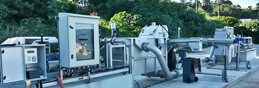 traitement des eaux potables