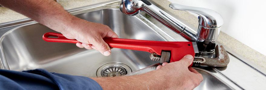 réparation de fuite d'eau