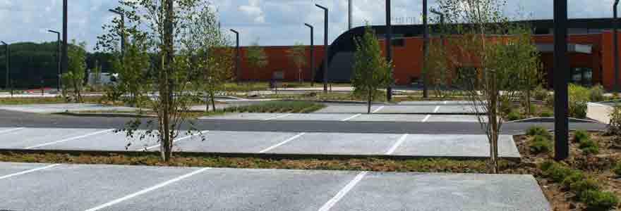 aménagement des parkings